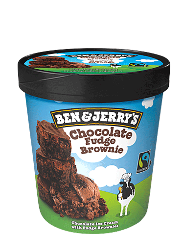 Ben and jerrys chocolate fudge brownie
