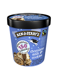Chocolate Milk & Cookies Moo-phoria Light Ice Cream
