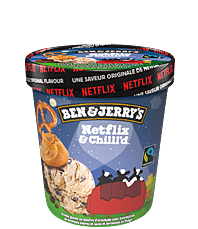 Netflix & Chilll'd™ Original Ice Cream Contenants