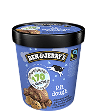 PB Dough Moo-phoria Light Ice Cream