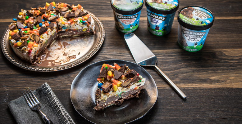 Ben & Jerry's Halloween Treats Ice Cream Cake