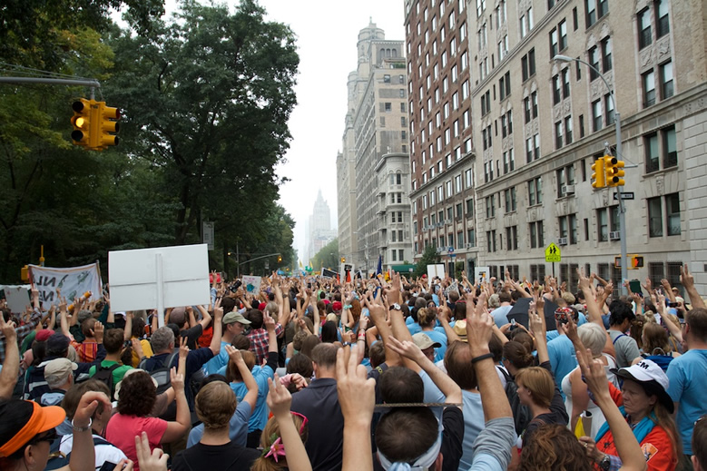Ben & Jerry's NYC climate march