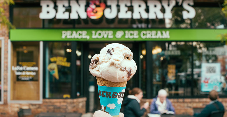 Ben & Jerry's Free Cone Day - Everyone is invited.