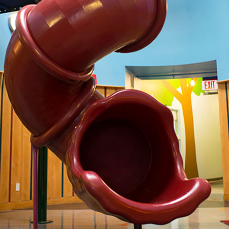 Ben & Jerry's office slide